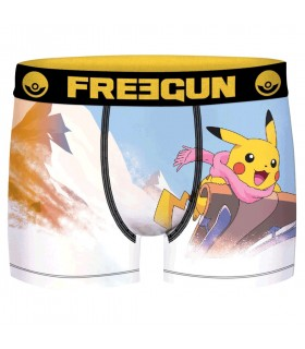 Lot de 3 Boxers Freegun homme Pokemon Winter