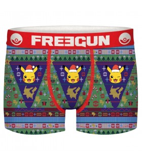 Lot de 4 Boxers garçon Pokemon Winter