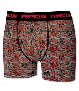 Boxer Freegun garçon Triangle Rouge