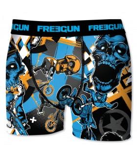Boxer Freegun garçon Xtrem Bleu