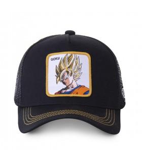 Men's Capslab Dragon Ball Z Black Cap
