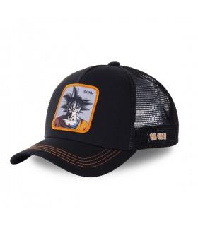 Men's Capslab Dragon Ball Z Black Trucker Cap