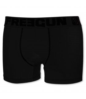 Boxer coton Garçon Freegun Ultrakolorz Noir
