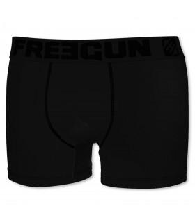Boxer Freegun coton garçon Ultrakolorz Noir