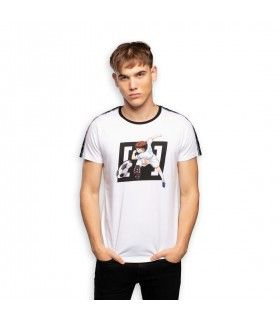T-Shirt homme Captain Tsubasa Blanc
