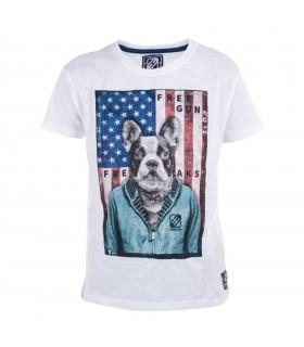 T-Shirt Garçon Bébé Imprimé Dog