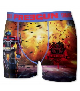 Men's Transformer Optimus Prime Boxer