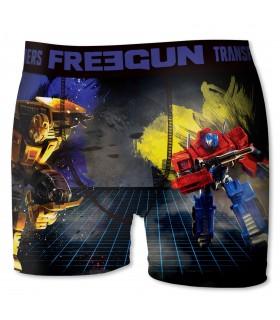 Boxer Freegun garçon Transformers Bumblebee et Prime