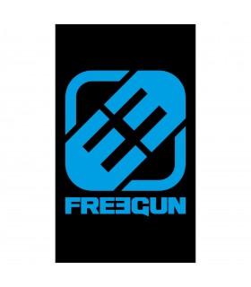 Grande Serviette de plage logo Freegun 100 X 170cm