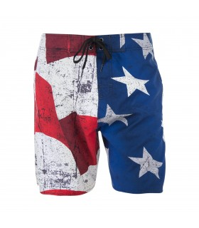 Boardshort Long Freegun Flag Homme