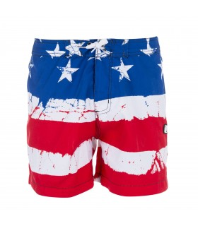 Boardshort Court Freegun Garçon Flag