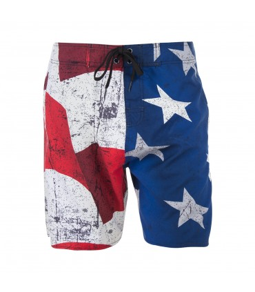 Boardshort Long Freegun Flag Garçon