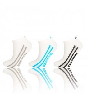 Lot de 3 paires chaussettes sneakers Homme Freegun blanc