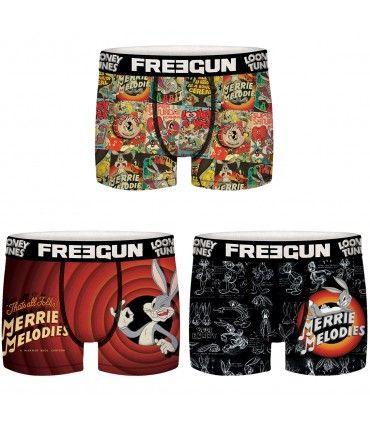 Pack of 3 boy's Looney Tunes Boxers