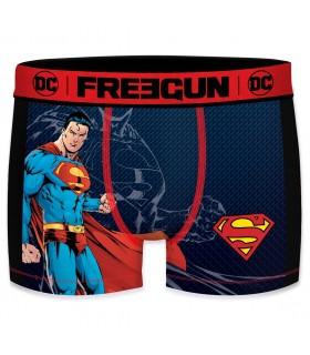 Boxer Freegun garçon Aktiv DC Comics Superman Mesh 2 cote