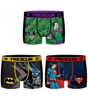 Pack of 3 boy's Aktiv DC Comics Mesh Boxers