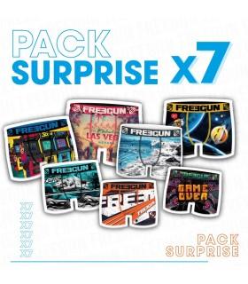 Pack Surprise de 7 Boxers microfibre garçon