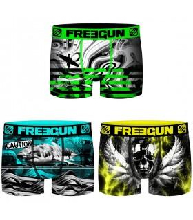 Pack of 3 men's Street microfiber Boxers