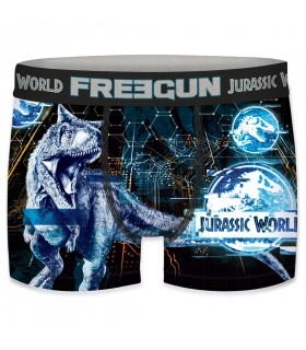 Men's Jurassic World Universal Digital Rex Boxer