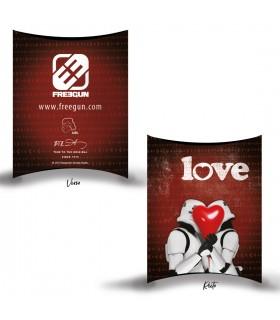 Boxer Freegun homme Stormtrooper St Valentin Amor