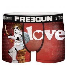 Boxer Freegun homme Stormtrooper St Valentin Cupidon