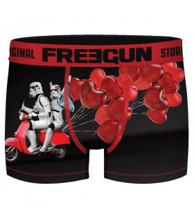 Boxer Freegun homme Stormtrooper St Valentin Love
