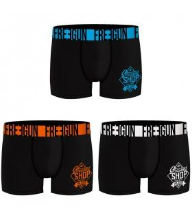 Lot de 3 Boxers Freegun garçon Shop