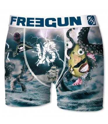 Boxer Garçon Premium Pirate FREEGUN