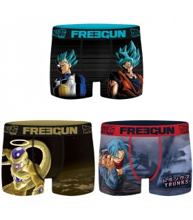 Lot de 3 Boxers garçon Dragon Ball Super