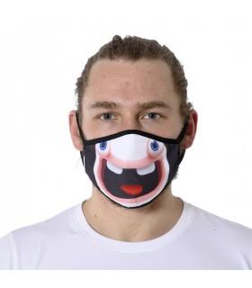 Masque grande taille en tissu Lavable 3 couches