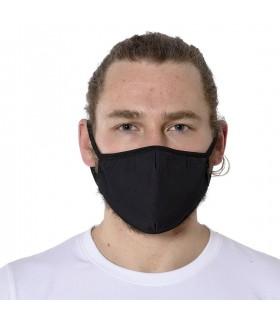 Lot de 6 Masques tissu assortis en trois couches