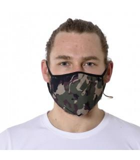 Masque Tissu Lavable en trois couches Camo
