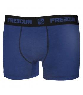 Lot de 4 Boxers Freegun coton homme Uni