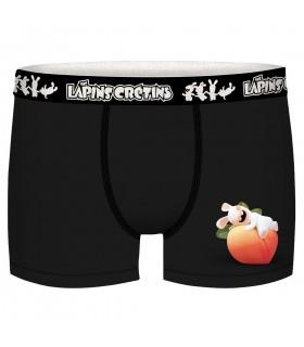 Lot de 5 Boxers coton garçon Lapins Crétins