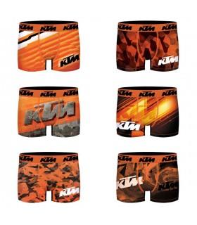 Lot de 6 Boxers homme KTM