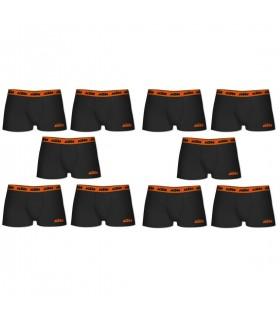 Lot de 10 Boxers coton homme KTM Ceinture colorée