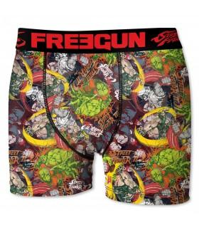 Boxer Homme Street Fighter Freegun
