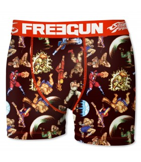 Boxer Homme Street Fighter FREEGUN