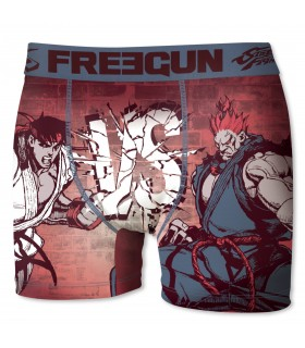 Boxer homme Street Fighter freegun multicolore