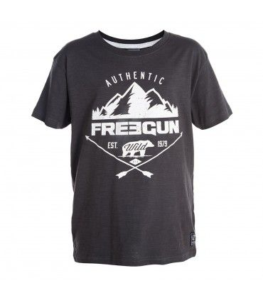 T-shirt Garçon Mountain FREEGUN