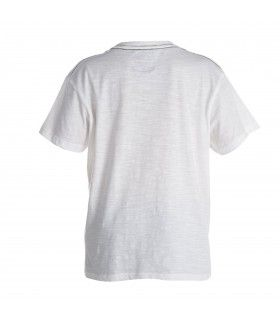 T-shirt Garçon Mountain Blanc FREEGUN