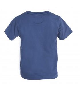 T-shirt garçon Bébé Bleu Dog
