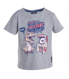 T-shirt Baby Garçon Gris FREEGUN