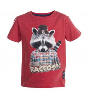 T-shirt Freegun Baby Boyz Rouge