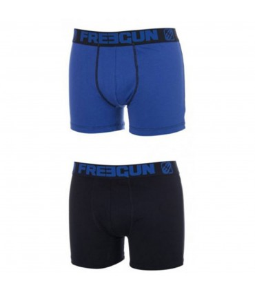 Lot De 2 Boxers Homme Coton Duo Freegun