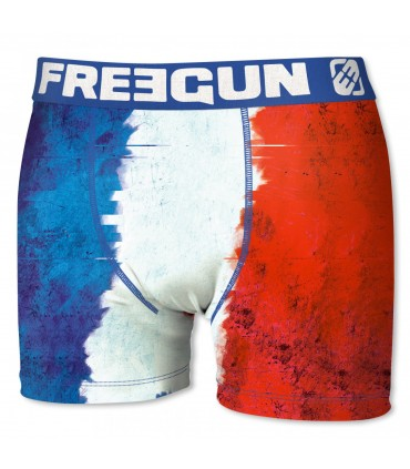 Boxer Homme France FREEGUN