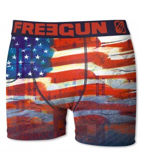 Boxer Homme USA FREEGUN