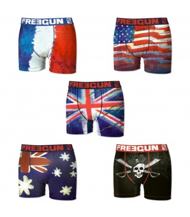 Lot de 5 boxers Homme P46 FREEGUN