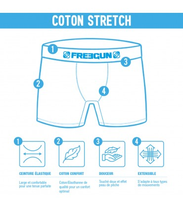 Pack of 4 Fresh cotton Boxers