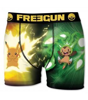 Boxer Garçon Pokemon Pikachu FREEGUN